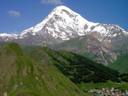 Mt. Kazbegi, Georgia © O.Abdaladze
